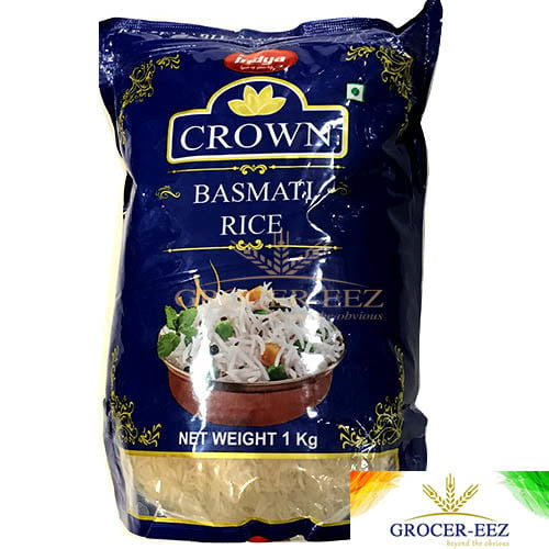 BASMATI RICE 1KG INDYA CROWN