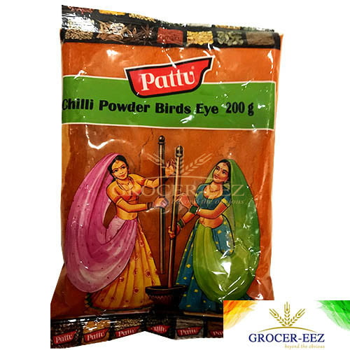 CHILLI POWDER BIRDSEYE 200G PATTU