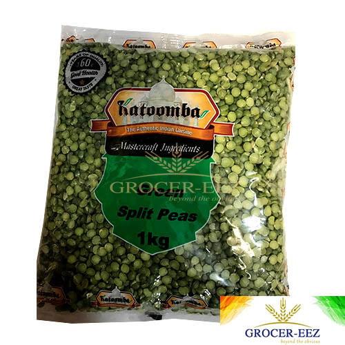 GREEN SPLIT PEAS 1KG KATOOMBA