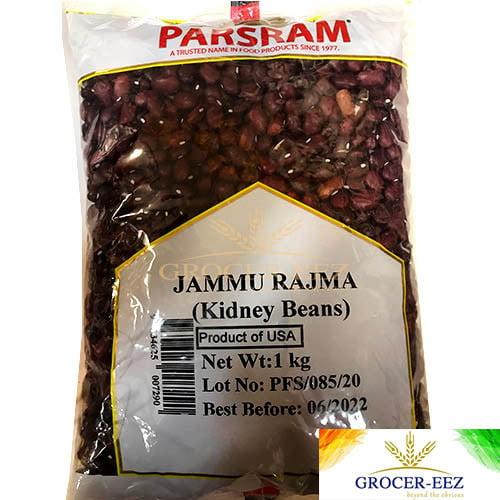 RED KIDNEY BEANS (Jammu Rajma) 1KG PARSRAM