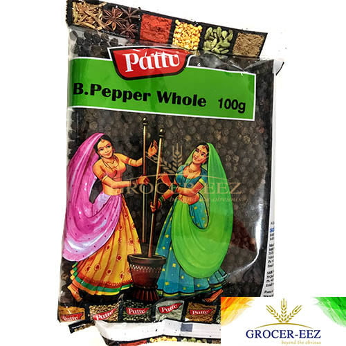 B.PEPPER WHOLE 100G PATTU