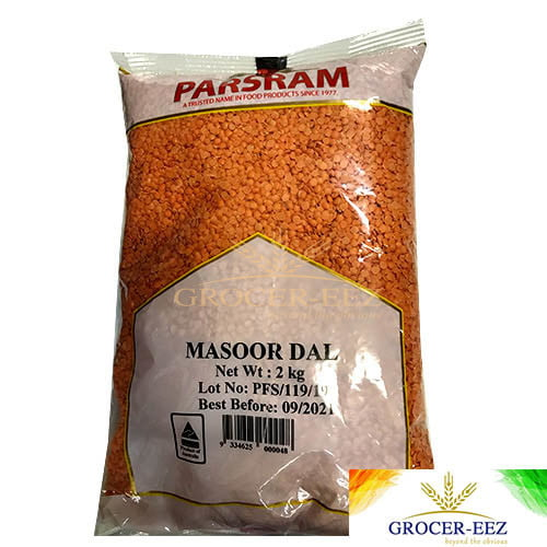 MASOOR/RED SPLIT 2KG PARSRAM