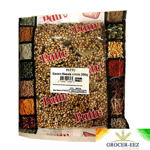 GARAM MASALA WHOLE 200G PATTU