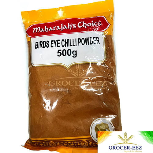 BIRDS EYE CHILLI POWDER 500G MAHARAJA CHOICE