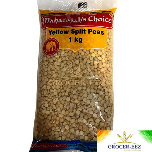 YELLOW SPLIT PEAS 1KG MAHARAJA CHOICE