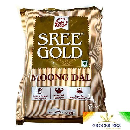 MOONG DAL 2KG SREE GOLD