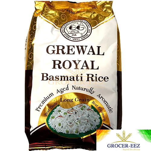 ROYAL BASMATI RICE 5KG GREWAL