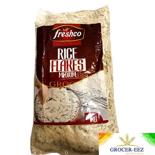 RICE FLAKES MEDIUM 1KG FRESCHO