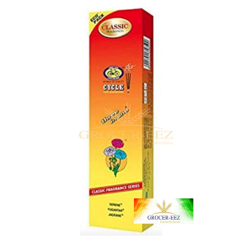 3 IN 1 INCENSE STICKS CYCLE (100 Sticks Eco Pack)