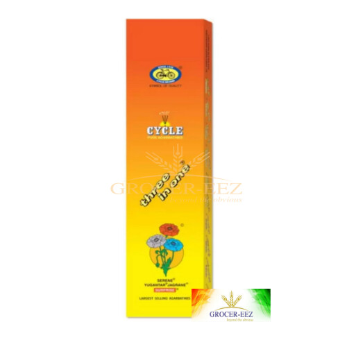 3 IN 1 INCENSE STICKS CYCLE (20 Sticks Small Pack)