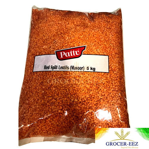 MASOOR/RED SPLIT 5KG PATTU