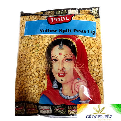 YELLOW SPLIT PEAS 1KG PATTU
