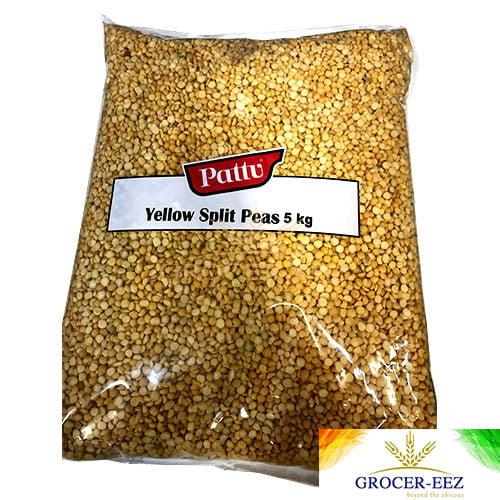 YELLOW SPLIT PEAS 5KG PATTU