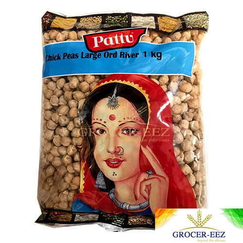 CHICK PEAS ORD RIVER (Kabuli White Chana Large) 1KG PATTU