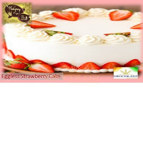 STRAWBERRY CAKE EGGLESS 1KG