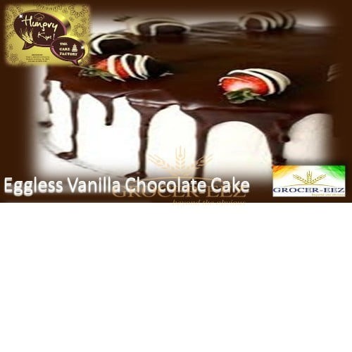 CHOCOLATE VANILLA CAKE EGGLESS 1KG