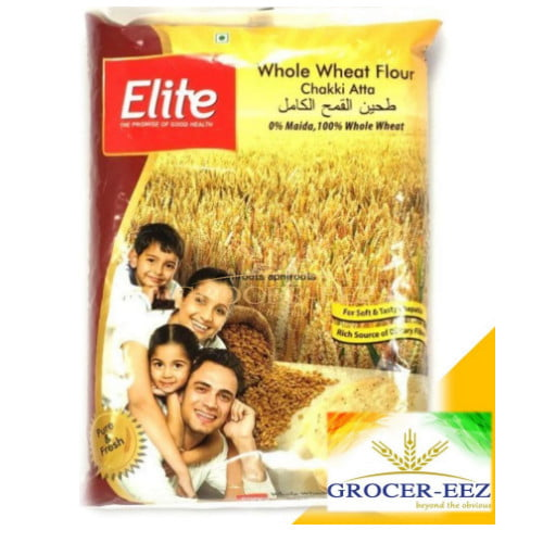 WHOLE WHEAT ATTA 5KG ELITE