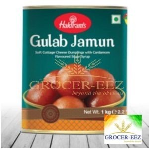 GULAB JAMUN TIN 1KG HALDIRAM'S DELHI