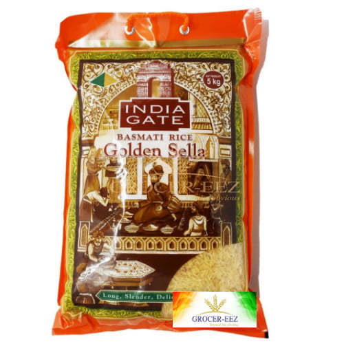 GOLDEN SELLA 5KG INDIA GATE