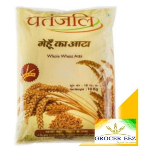 WHOLE WHEAT ATTA 9KG PATANJALI