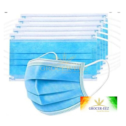 FACE MASK PACK OF 5 DISPOSABLE