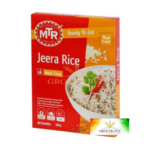 JEERA RICE RTE 300G MTR
