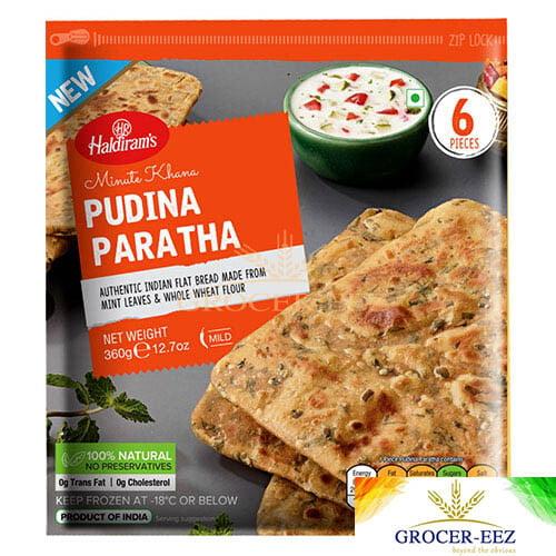 PARATHA PUDINA 6PCS HALDIRAM'S DELHI