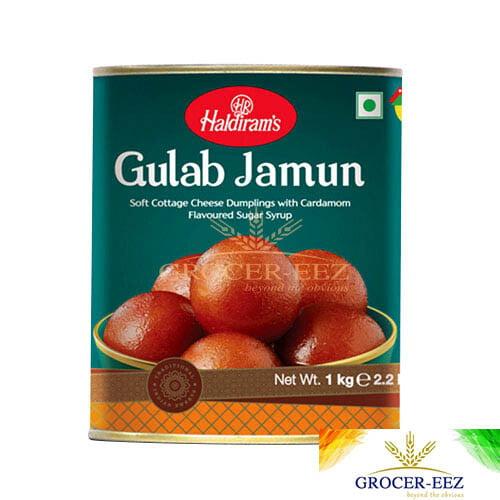 GULAB JAMUN TIN 1KG HALDIRAM'S NAGPUR