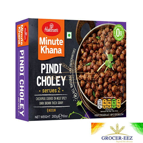 PINDI CHOLEY 283G HALDIRAM'S DELHI