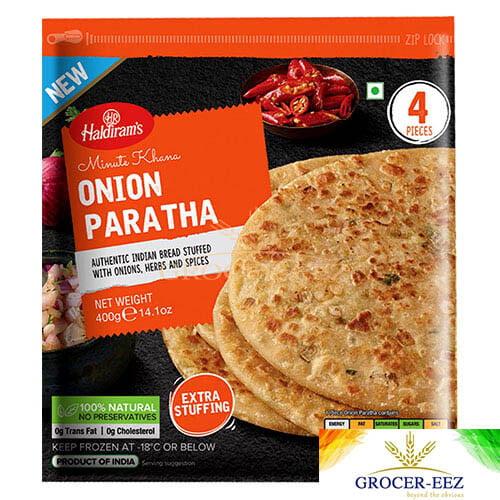 PARATHA ONION 4PCS HALDIRAM'S DELHI