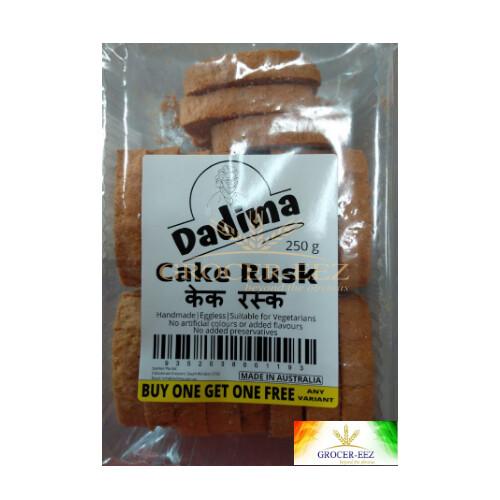 CAKE RUSK 250G DADIMA