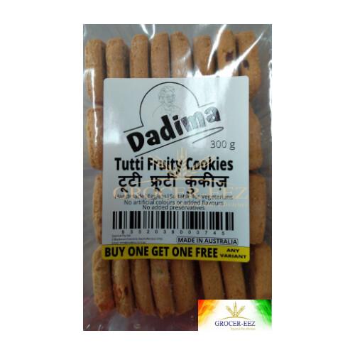 TUTTI FRUITY COOKIES 250G DADIMA